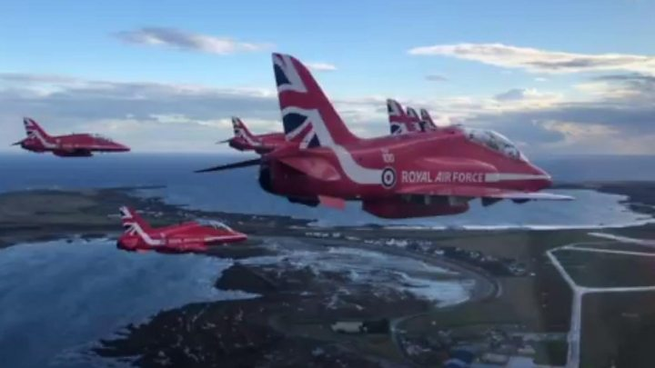 Isle of Man TT 2019: Red Arrows confirm 40th Isle of Man display