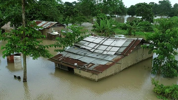 Millions flee homes, scores dead as monsoon rains strike