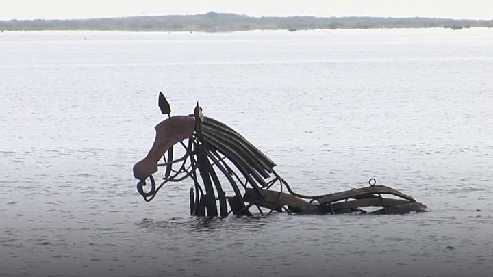Sea Horse sculpture bought for £15,000