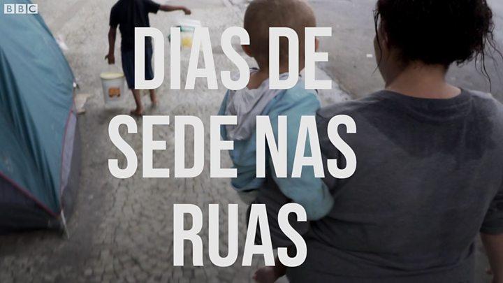 Resultado de imagem para A saga dos moradores de rua em São Paulo por um copo d'água Felipe Souza