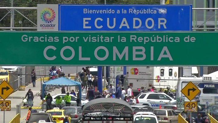 bb5ad9192904f Ecuador tightens entry rules for Venezuelan migrants - BBC News