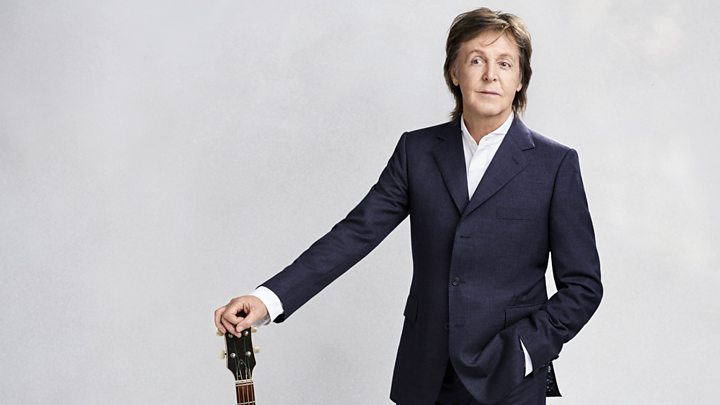 "p06l1cqn - Paul McCartney on handling crowds, and why he calls Donald Trump ""the mad captain"""