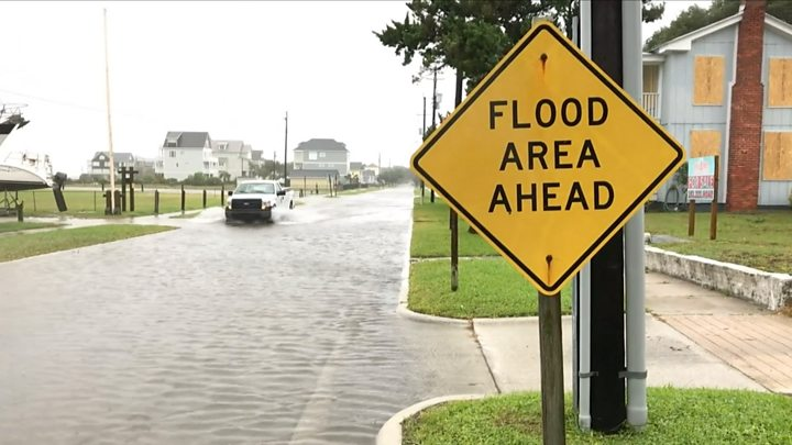 Florence expected to weaken as flood risk rises
