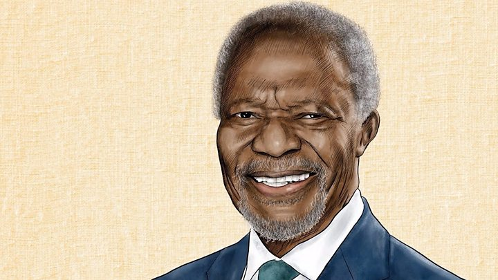 p06l5fdj - Kofi Annan's funeral: World leaders bid farewell to ex-UN chief