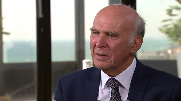 Back another EU referendum, Sir Vince Cable tells Theresa May