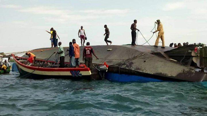 Scores killed as ferry capsizes in Tanzania