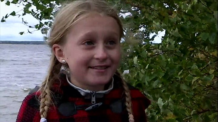 Girl, 8, pulls a 1,500-year-old sword from a lake in Sweden