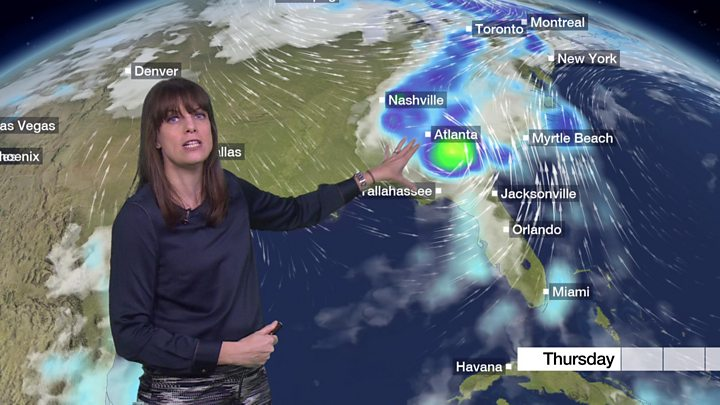 Storm Michael: Monster storm mauls US south-east