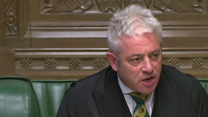 MPs quit Commons group because Speaker Bercow chairs it