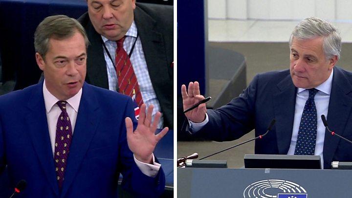 Uproar in EU Parliament over Nazi comment