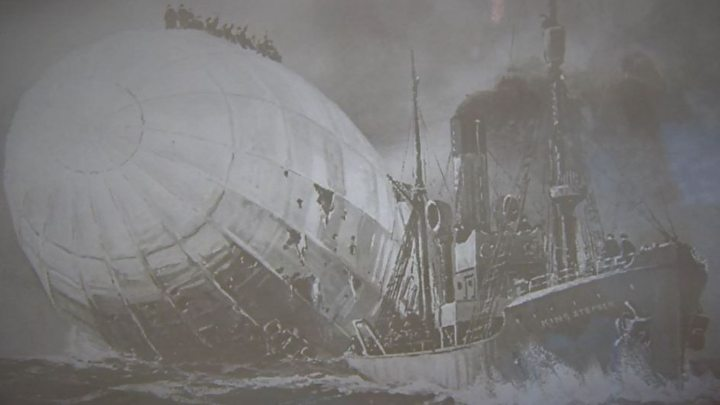 'Peace made' over Grimsby WW1 Zeppelin crash deaths