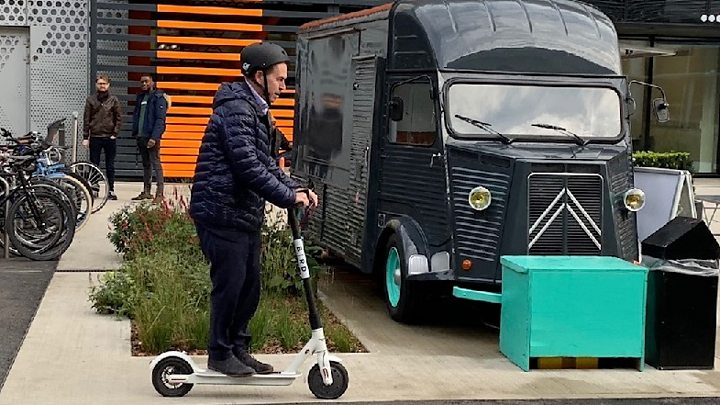 Scooter Firm Bird Pushes For Law Change With London Trial Bbc News