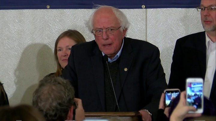 Sanders apology for campaign 'harassment'
