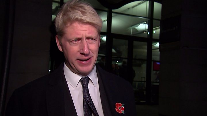 Boris Johnson's brother resigns and calls for a second Brexit referendum