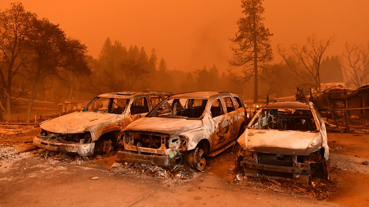 California wildfires: Fears of further damage as winds