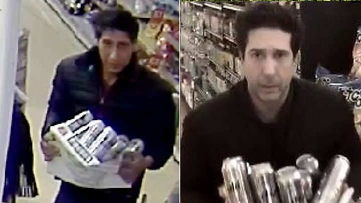 David Schwimmer lookalike 'thief' who became Twitter sensation is arrested in London