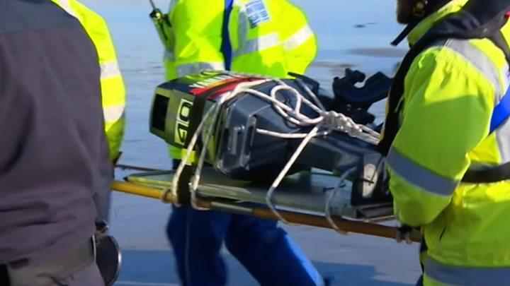 Body of suspected migrant found under bus in Folkestone