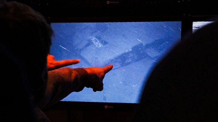 El Momento En Que Encontraron Al Submarino Ara San Juan