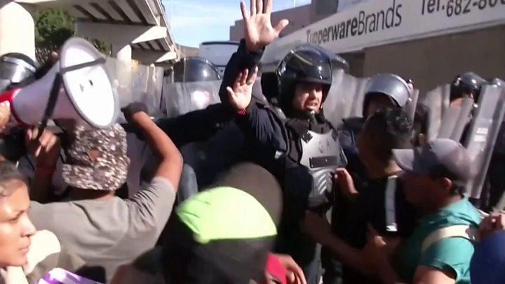 Resultado de imagen para CENTROAMERICANOS DEPORTADOS DESDE ESTADOS UNIDOS LLEGAN A TIJUANA