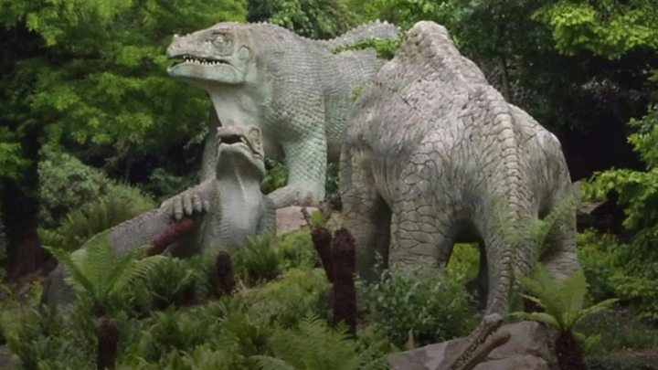 Crystal Palace dinosaurs added to 'at risk' register