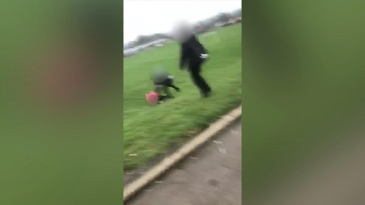 Boy to be charged after video showing attack on teenage Syrian refugee