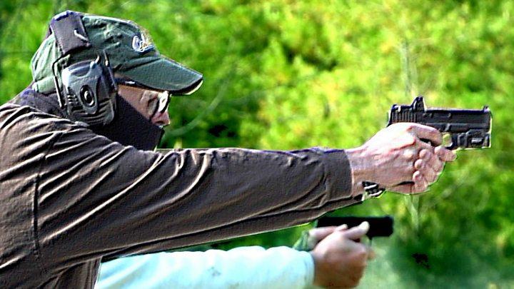 The American teachers armed against gun crime