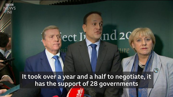 Backstop changes 'not possible' - Irish PM