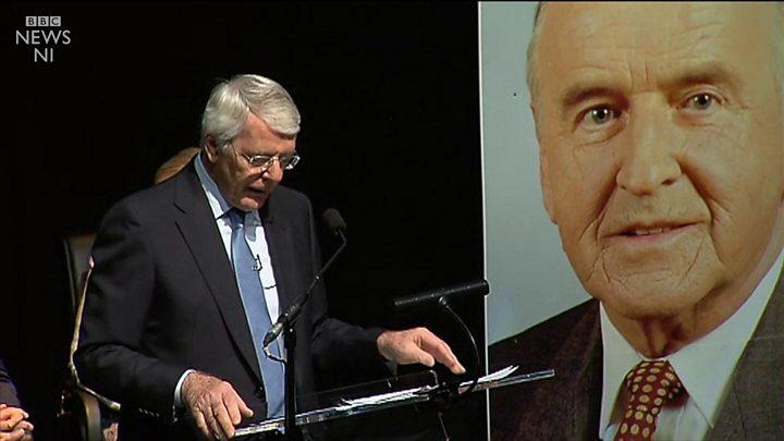 Sir John Major Unionists Opposing Backstop Ignorant Bbc News