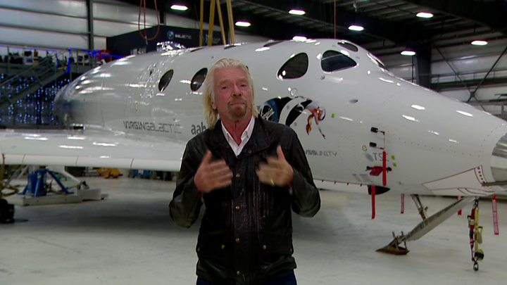 Virgin Galactic SpaceShipTwo Reaches Space for the First Time