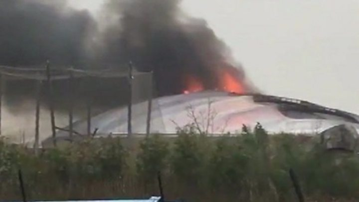 Animals, visitors evacuated as fire ignites at Chester Zoo in UK