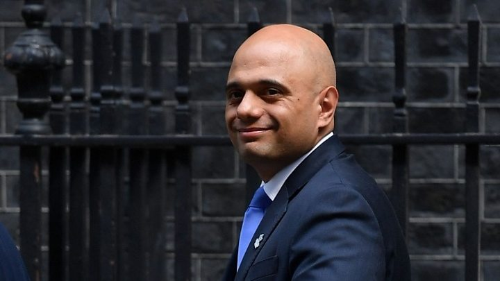 Sajid Javid avoids citing immigration target