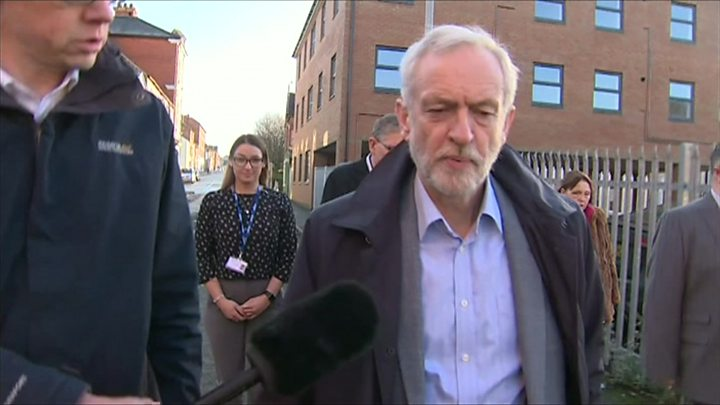 Jeremy Corbyn DENIES calling Theresa May a 'stupid woman'