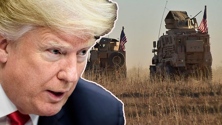 p06w6hfp - Trump committed to defeating IS in Syria