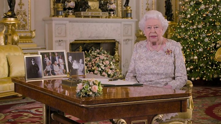 The Queens Christmas Message 2019 Goodwill message 'needed as much as ever', says Queen   BBC News