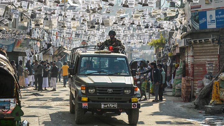 Violent Scenes Taint Bangladesh Elections