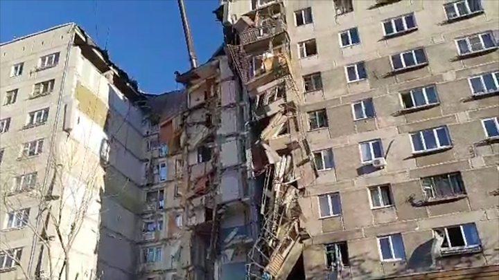Взрыв в многоэтажке в Магнитогорске произошел в ночь на 31 декабря. Есть  погибшие. 54191f5af25