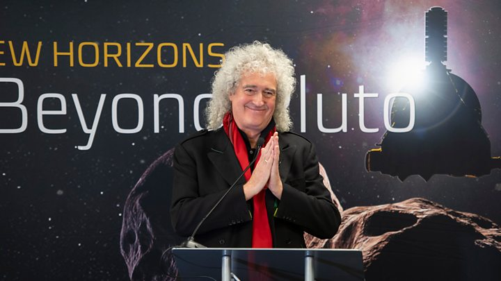 Media playback is unsupported on your device                  Media caption Brian May
