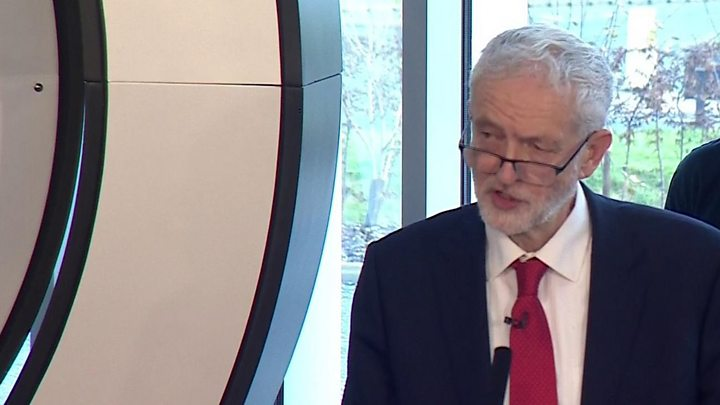 p06xpq2l - Corbyn calls for election over Brexit