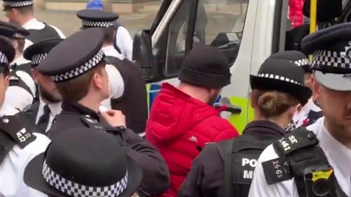 Pro-Brexit activist arrested