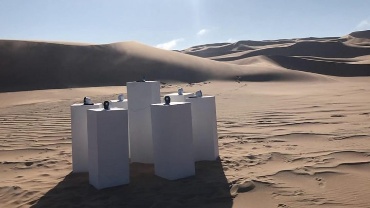 Desert 'blessed' with Africa by Toto