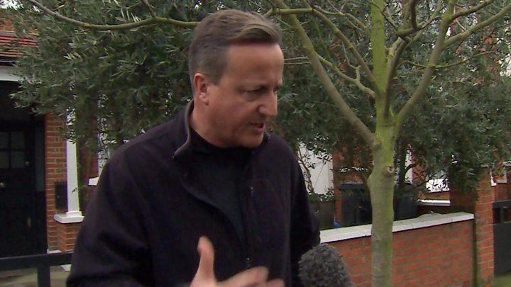Brexit: David Cameron says parliament must deliver on the European Union referendum