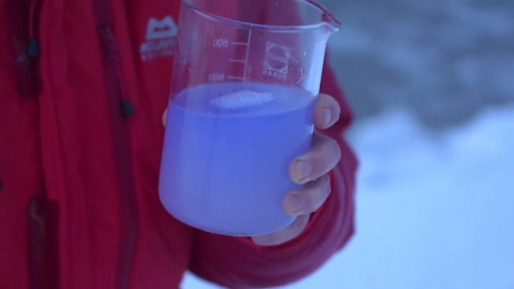 Warmer waters threaten Arctic Ocean life