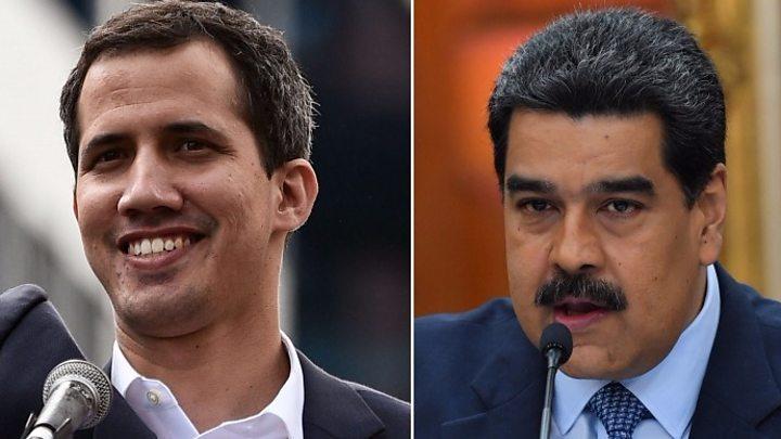 Venezuelan Scientist Offers Reality >> Venezuela Crisis Us Sending Aid At Guaido S Request Bbc News