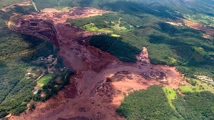 Dead, 300 Missing In Brazil Dam Disaster