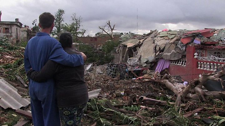 Huge clean-up effort in Cuba after freak tornado rips through Havana
