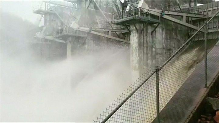 Queensland dam gates opened
