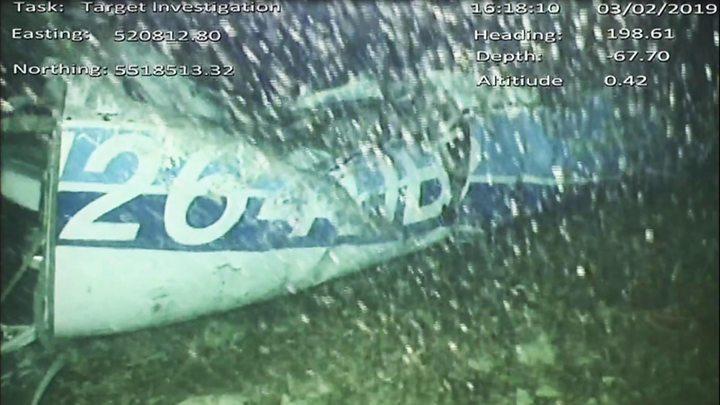 p06zy6px - Body seen in Sala plane wreckage