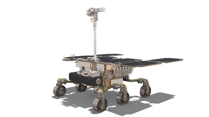 Name of UK-built Mars rover revealed