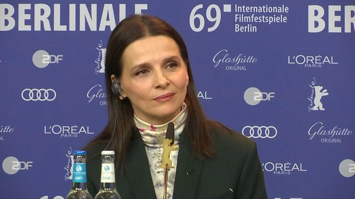 Juliette Binoche calls Harvey Weinstein a 'great producer'