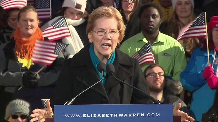 U.S. Sen. Elizabeth Warren enters 2020 presidential race